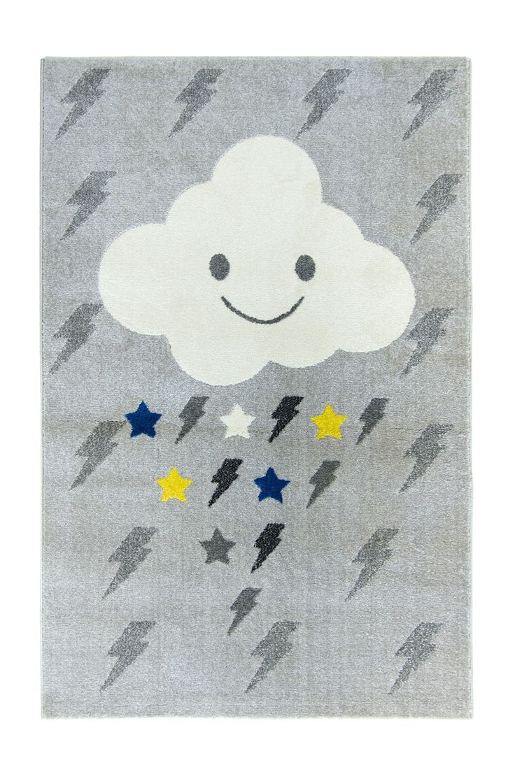 Farg form baby changing table mat grey clouds - Boy Room Clouds Room
