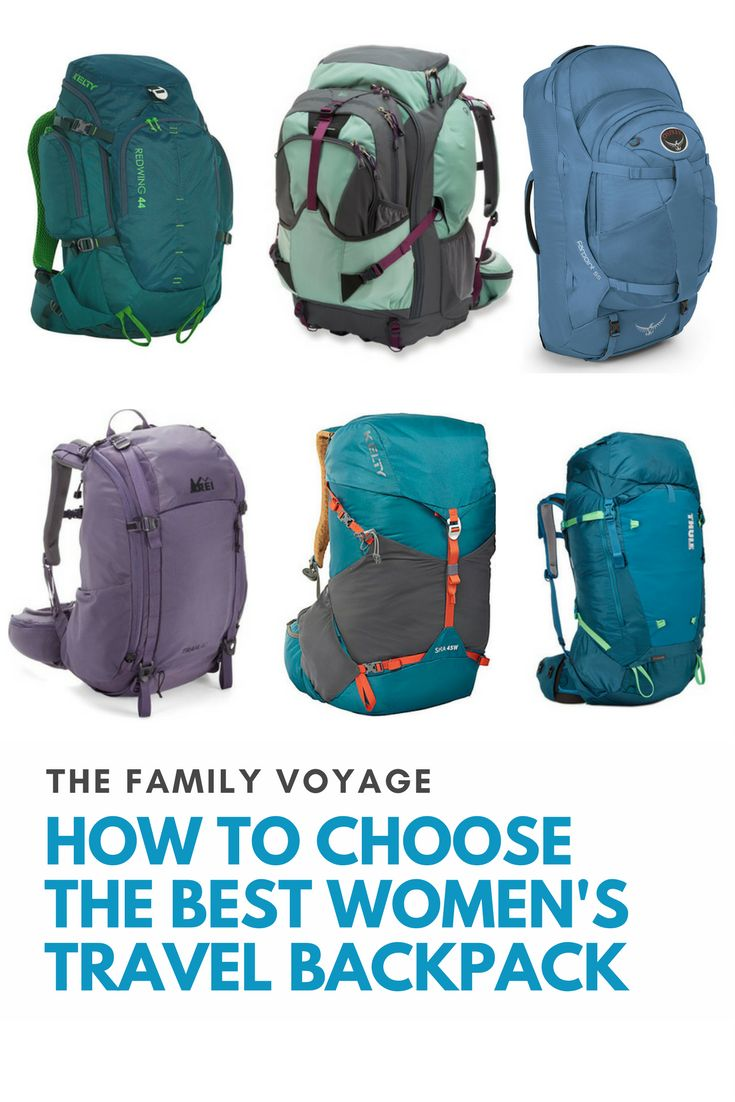 Are you shopping for a women's travel backpack? Check out our hands-on review of some of the best backpacks for women! How to choose the right women's backpack for travel and the best women's backpacks in 2017. Including Osprey backpack review, REI backpack review, Thule backpack review and Kelty backpack review. #traveltips #travel #packing #packlight #gear #luggage