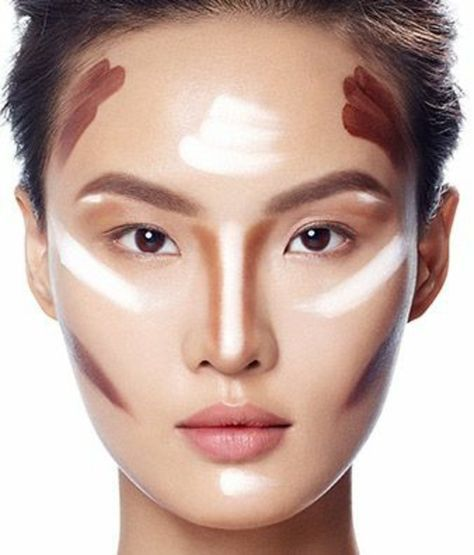 nice Самостоятельное контурирование лица — Пошаговая инструкция с фото