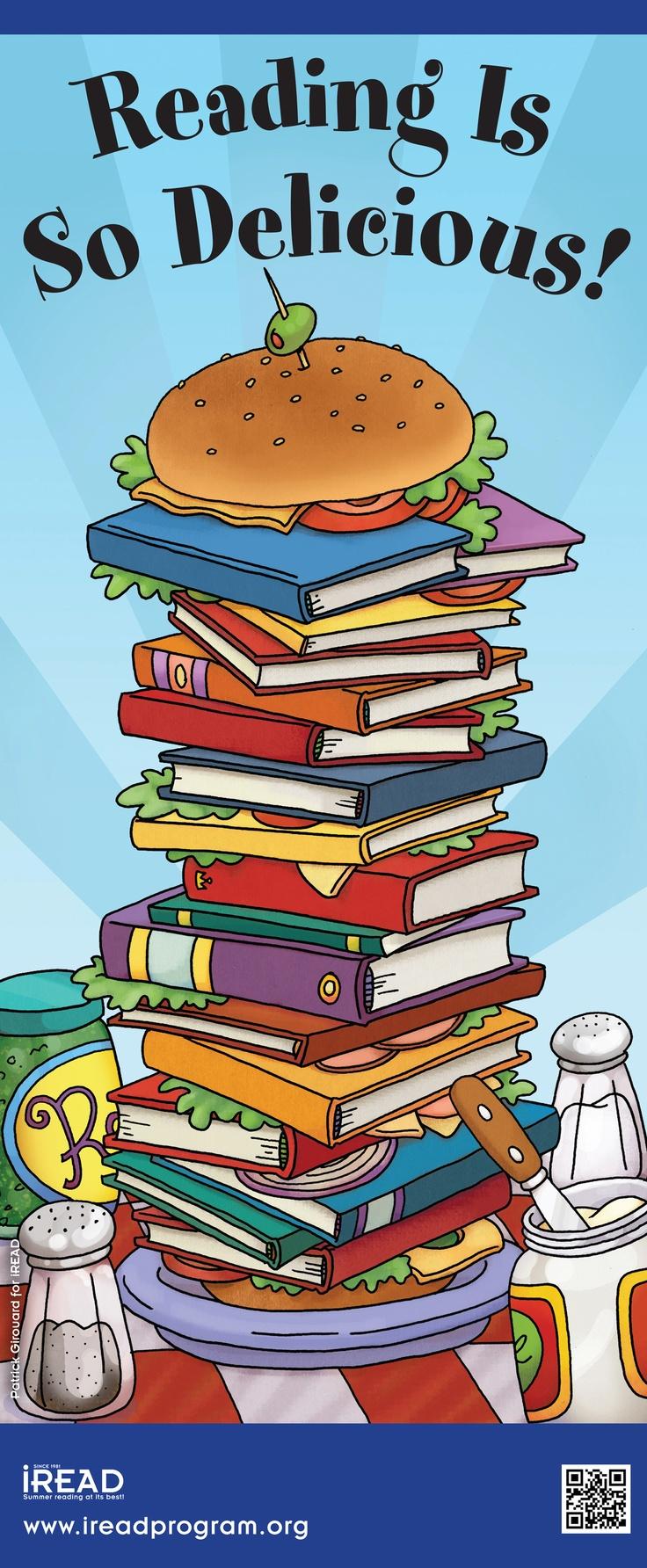 """""""Book Sandwich"""" © Patrick GIROUARD (Artist, USA). Artist site: http://www.pgirouard.com/Patrick_Girouard_Illustrator/welcome.html"""