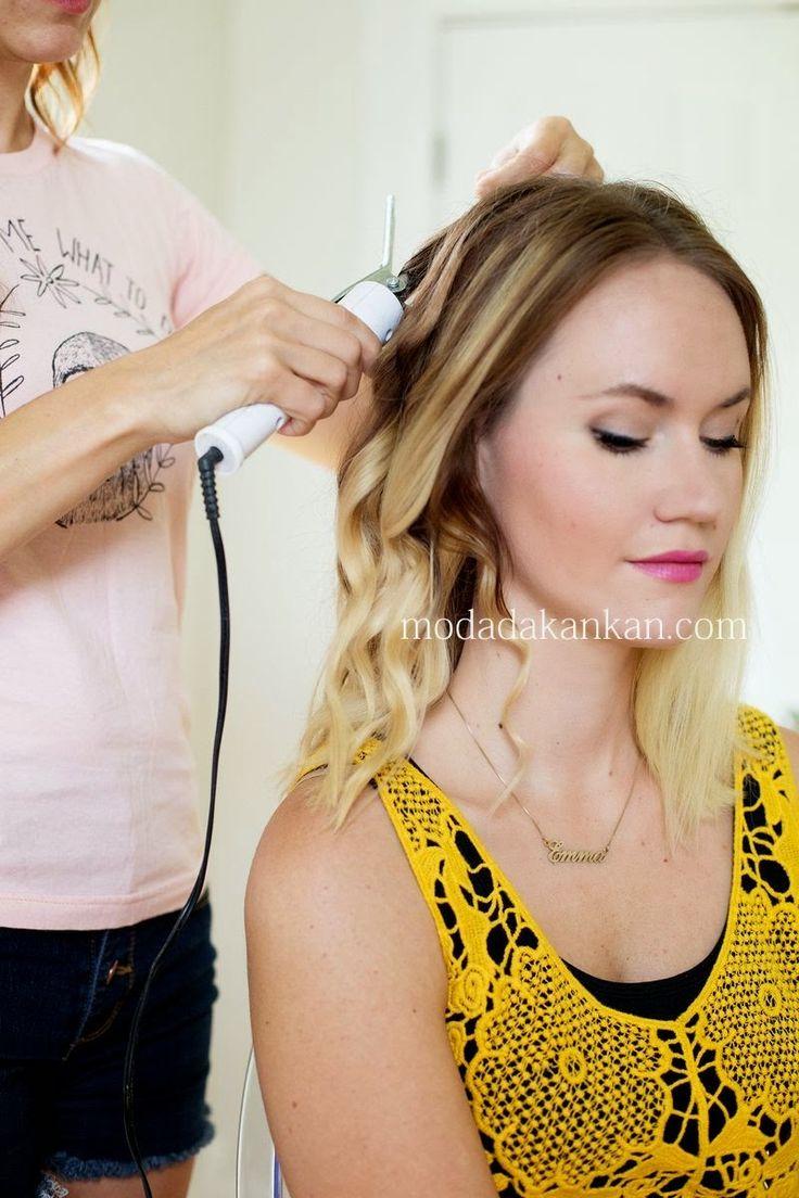 Bohem Saç Modeli Yapımı 2015