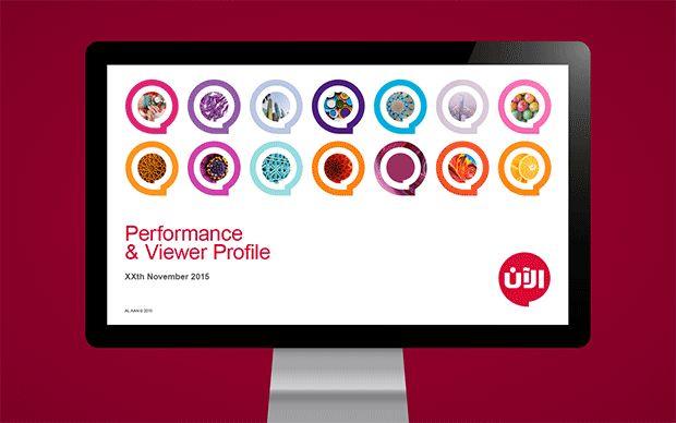 Al Aan TV Brand Refresh   Presentation template