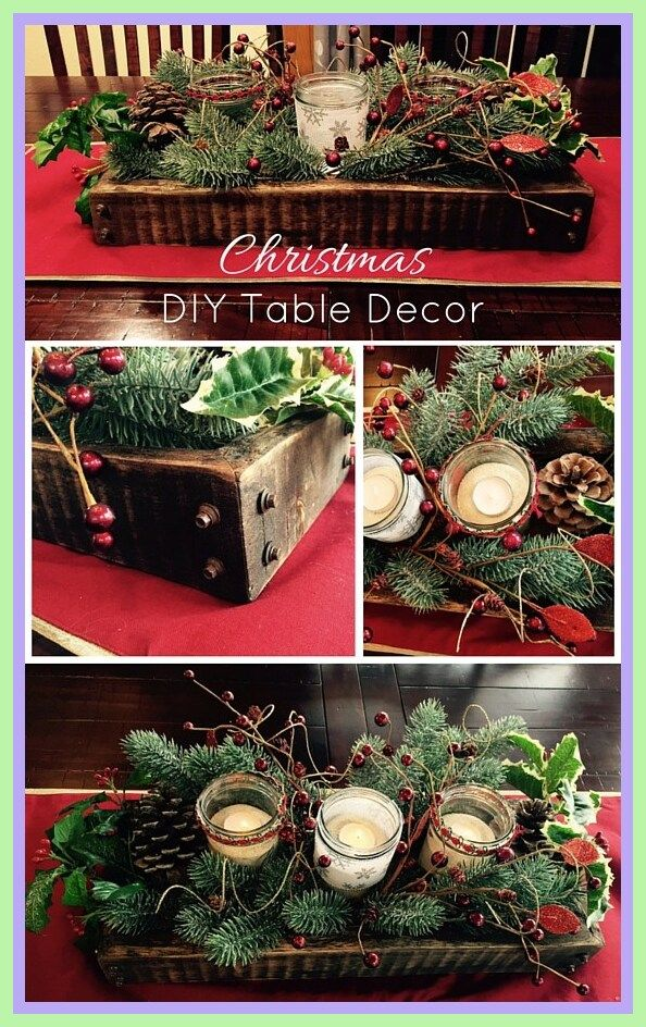 73 Reference Of Table Decoration Xmas Diy Christmas In 2020 Diy Christmas Table Christmas Centerpieces Diy Christmas Table Decorations Diy