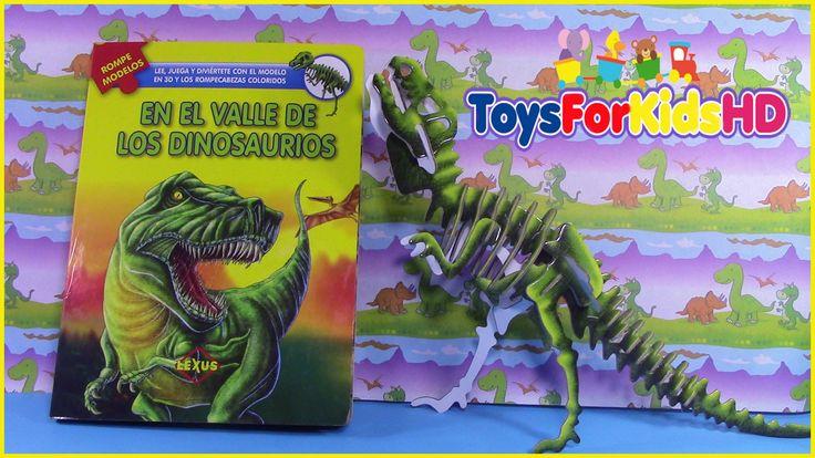 Libros de dinosaurios para niños videos de dinosaurios juguetes de dinosaurios
