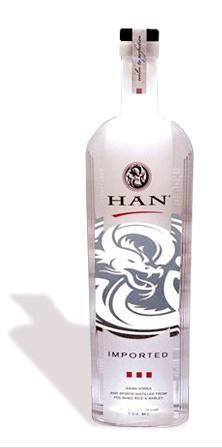 Han Vodka - Best Vodka Brands from South Korea - #Han #HunVodka #Vodka