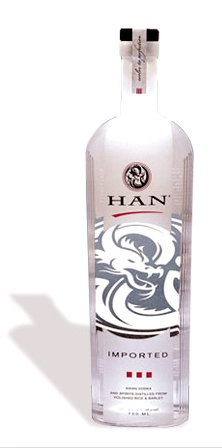 Han Vodka - Best Vodka Brands from South Korea - #Han #HunVodka #Vodka