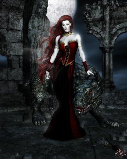 And Gothic Queen Lovely Woman 119