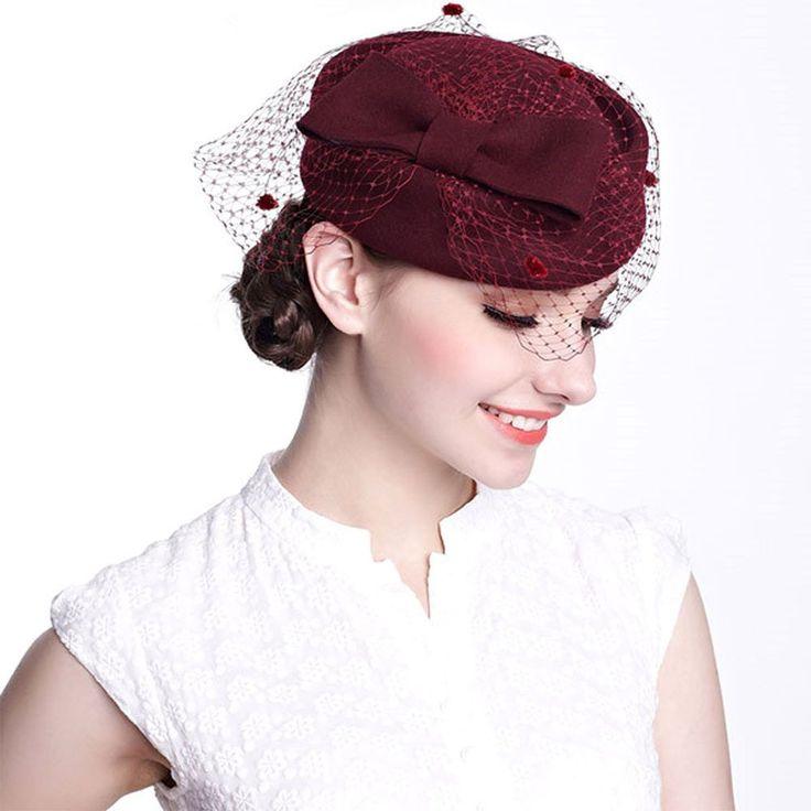 Winter Wedding Hats And Fascinators
