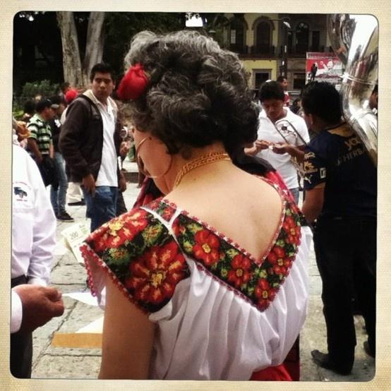 Oaxaca celebration in the Zocalo