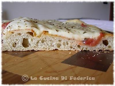La cucina di Federica: Pizza soffice con farina d'avena