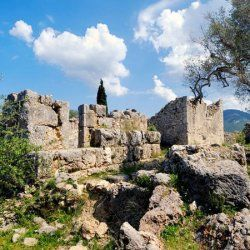 """Palace of Odysseus - Agios Athanasios 