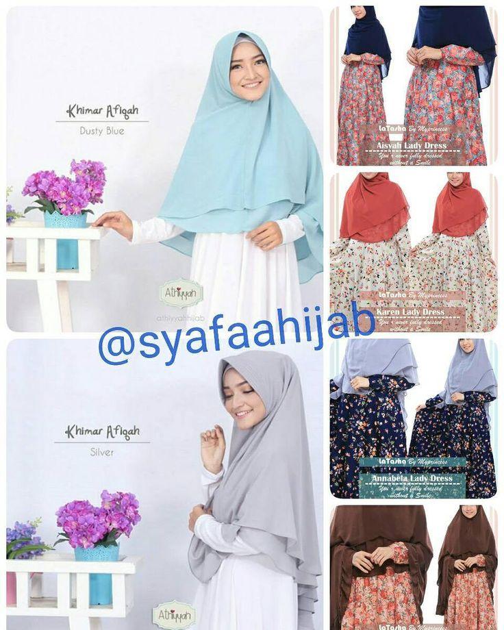 Assalamualaikum sahabat muslimah  Introducing @syafaahijab chic and affordable moslem outfit tempat kita bisa mendapatkan hijab dan dress muslimah berkualitas dengan harga bersahabat  Ada hijab dan dress muslim dari #athiyyahhijab #ayudiaindonesia #latashabymyprincess dan masih banyak lagi koleksi lainnya  Yuk tunggu apa lagi..visit @syafaahijab and get your new look ukhti shalihat  Informasi dan pemesanan :  WA : 085643484926 LINE : ingritadewi