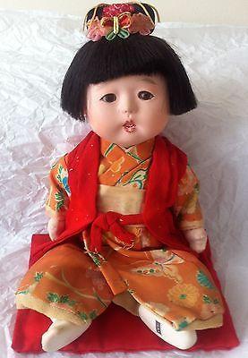 ORIENTAL ASIAN JAPANESE BABY GIRL DOLL (1958)