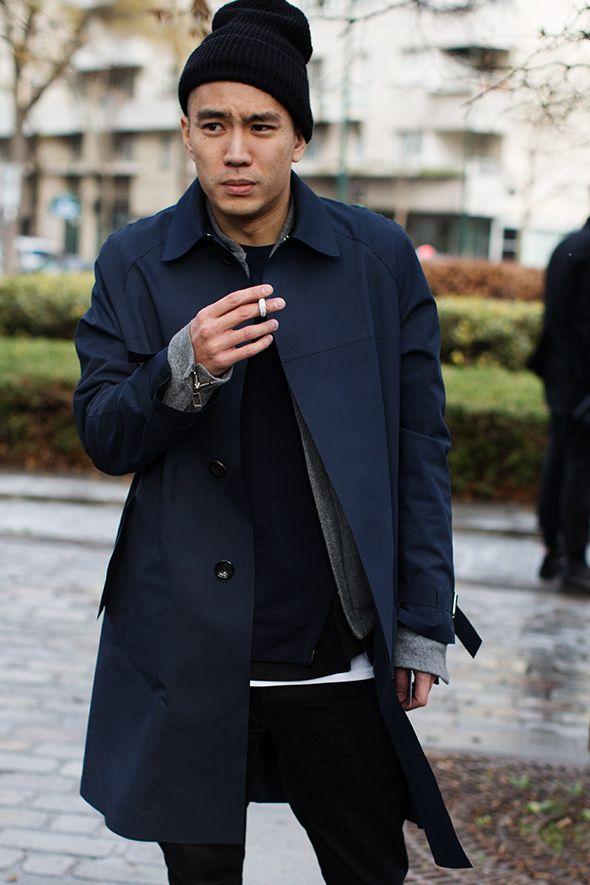 On The Street…. Men's Fashion Today, Milan & Paris