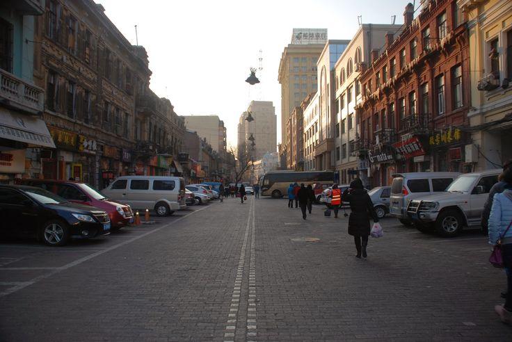 Streets of Harbin, China