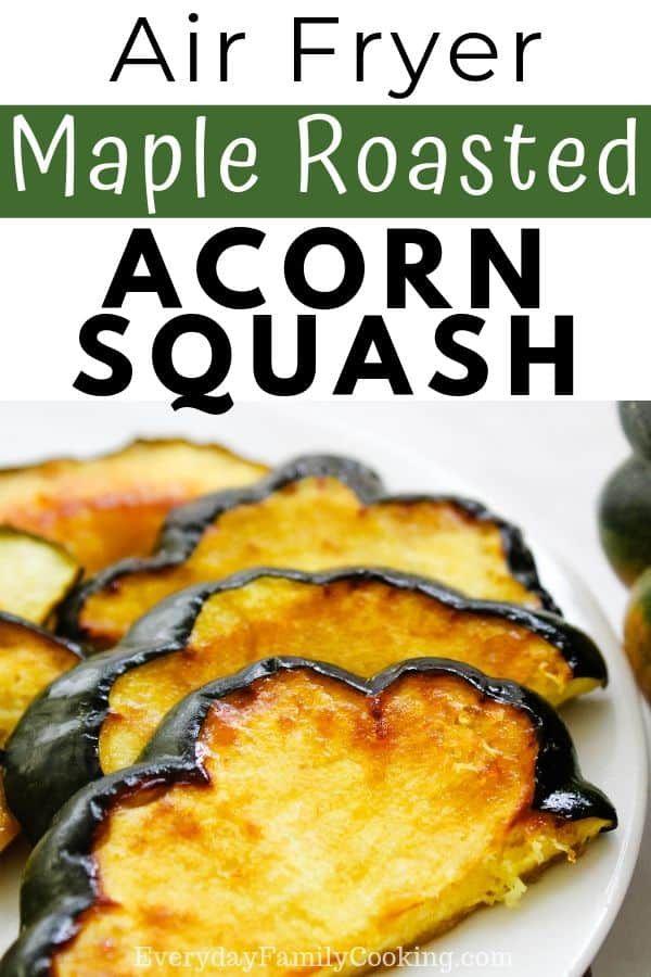 Maple Roasted Acorn Squash Recipe With Images Acorn Squash