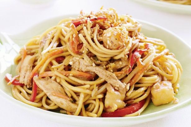 Use your noodle and make dinner quick and easy tonight!