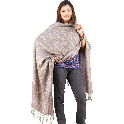 Weaved Hand #Embroidered Reversible Scarf Stole 121