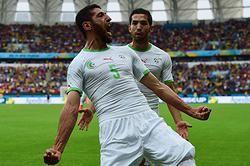 Festival de goles entre Argelia y Corea