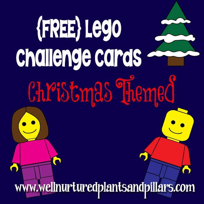 Well Nurtured Plants and Pillars has FREE Lego challenge printable cards. My kids love to think outside the lego box. They really enjoy these cha