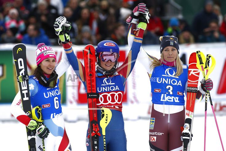 LIENZ, Austria/December 28, 2017(AP)(STL.News)—Olympic champion Mikaela Shiffrin mastered a tricky slalom course on Thursday to cruise to her 36th career World Cup win. Backed by a huge 1.14-second lead from the opening leg, the defending overall World Cup champion avoided risks and posted onl... Read More Details: https://www.stl.news/shiffrin-beats-holdener-hansdotter-world-cup-slalom-win/57673/