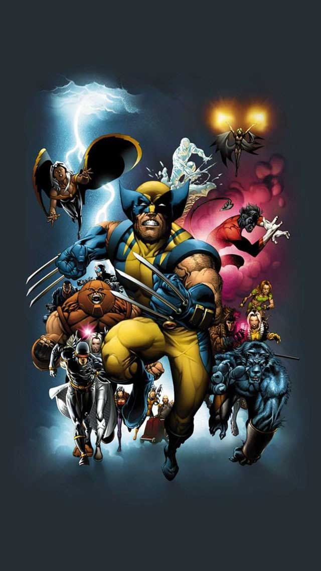 Wallpaper XMen and Others Wallpapers 4 Ur Phone