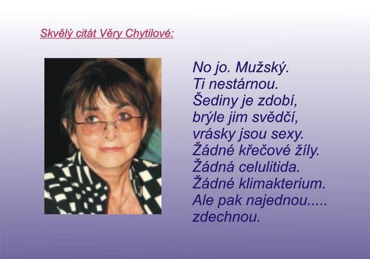 Detail Obrázku Citát Věry Chytilové - RájSmíchu.cz