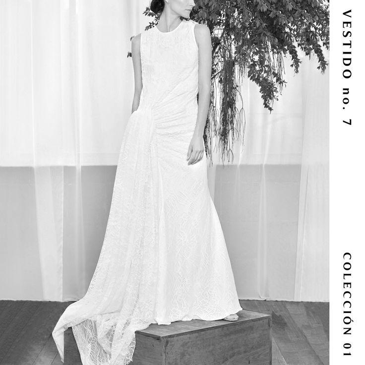Vestido no. 7  Colección 01  #TristaneIsoldaNovias