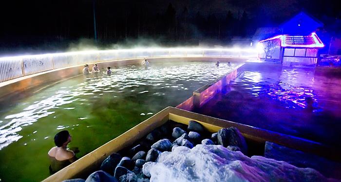 Takhini Hot Springs, Whitehorse, Yukon Territory, Canada