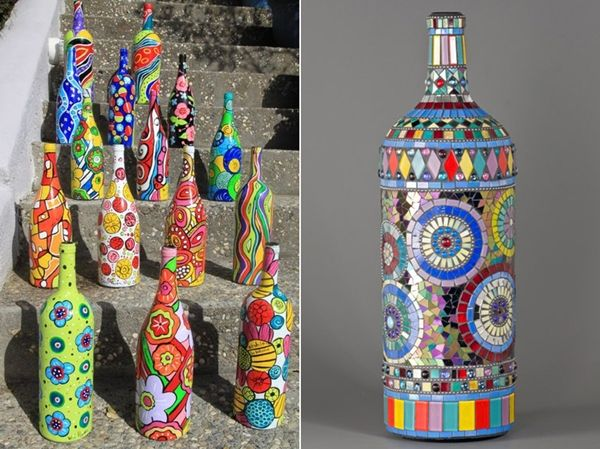 15 Amazing Wine Bottle Crafts to Decorate Your Home With - http://www.amazinginteriordesign.com/15-amazing-wine-bottle-crafts-to-decorate-your-home-with/