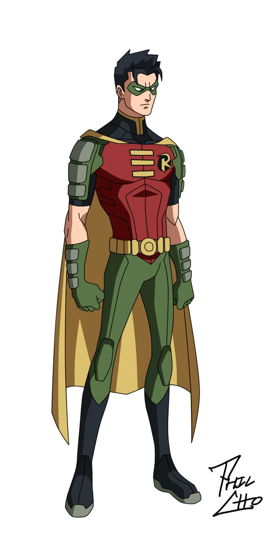 Robin: Tim Drake by ~qBATMANp on deviantART