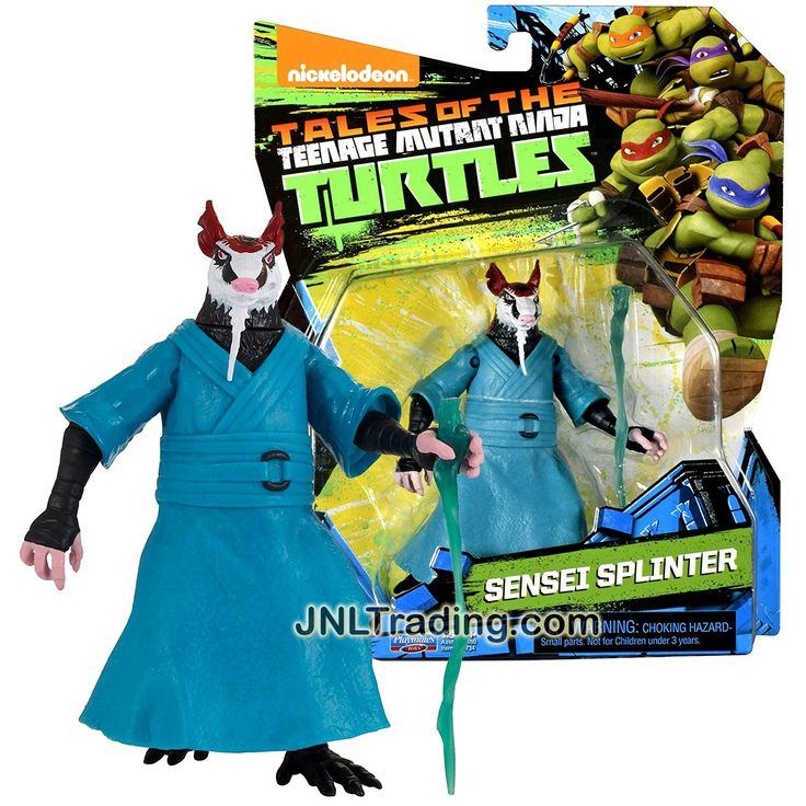 Playmates Year 2017 Tales of the Teenage Mutant Ninja Turtles TMNT Series 5 Inch Tall Figure - SENSEI SPLINTER with Walking Stick