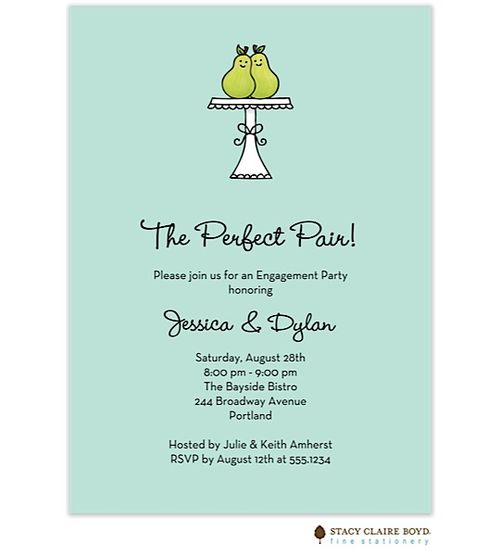 Stacy Claire Boyd The Perfect Pair Invitation - Receive 20% off this item at checkout. Use Coupon Code DCLG2.