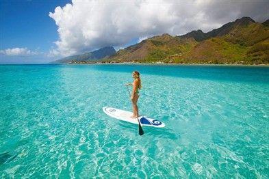 Paddle Board en Hawaii