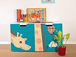 Luxury yourdea M belsticker f r Kinderzimmer IKEA Stuva Bank Truhe mit Motiv Long Tall Sally