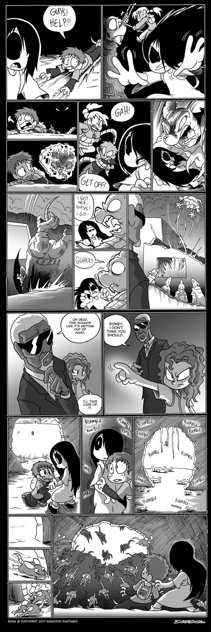 Erma :: Erma- The Rats in the School Walls Part 28   Tapastic Comics - image 1