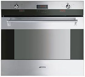 SOA330X: Oven Smeg designed in Italy, has functional characteristics of quality with a design that combines style and high technology. See it at www.smeg.com.au