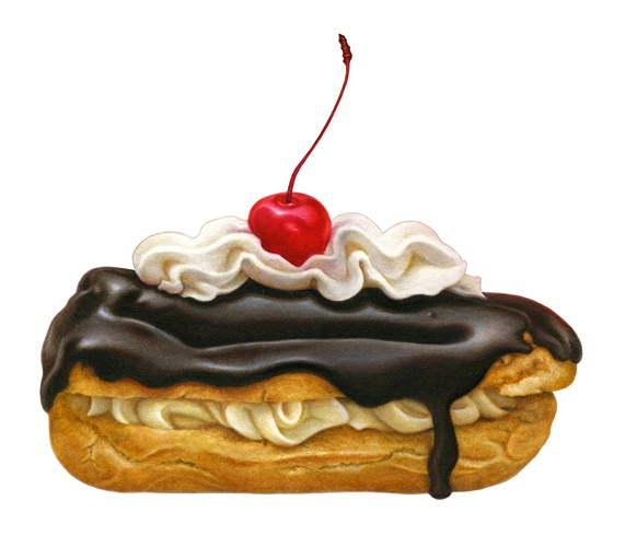 Dessert Medley: Eclair