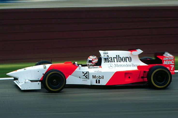 Nigel Mansell McLaren MP4/10