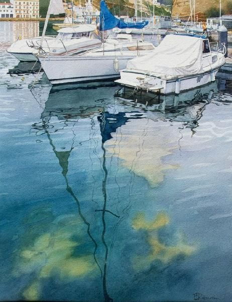 Brian Robinson WATERCOLOR