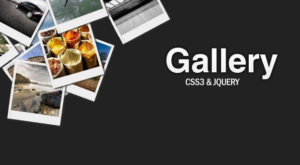 http://demo.tutorialzine.com/2009/11/hovering-gallery-css3-jquery/demo.php    Awesome CSS3 Lightbox Gallery -- drag the pictures around to share them!