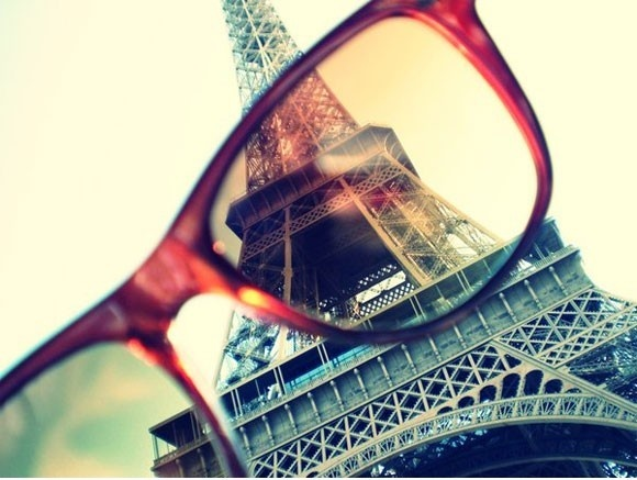 Eiffel in my glasses