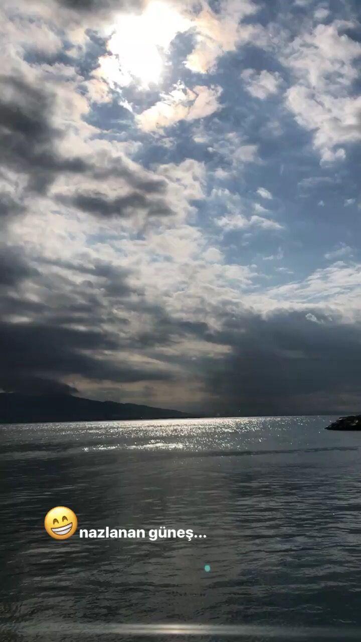 Nazlanan güneş, bulutlar, deniz, mavi, gökyüzü, huzur, sonsuzluk, huzurun renkleri