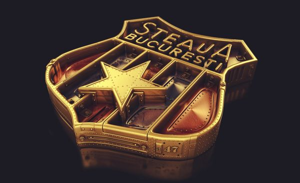 Steaua Screws'n'Bolts by Andrei Lacatusu, via Behance
