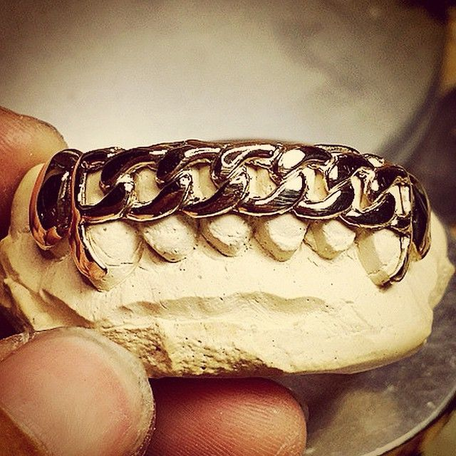 """YELLOW GOLD BOTTOM 8 CUBAN LINK GRILL!! WHY DO #STLGRILLZZ GOT THE toughest Grillz game ??  #SUNDAYFUNDAY ______________________________  #StLGRILLZZ """"HOME OF THE CUSTOM GRILLZ in the MIDWEST""""  ORDER TODAY Delmar Loop  314-441-6838 Email: sfi.stlouis@gmail.com PayPal accepted  SHIPPING NATIONWIDE!!!!"""