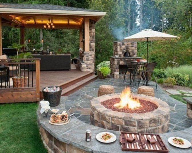 80 Garden Design Vorsc House How To Crafts 80 Garden Design Suggestions Simple But Successful Design Backyard Seating Area Backyard Seating Backyard Patio