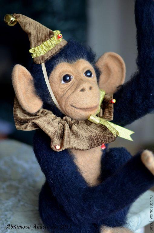 обезьяна из шерсти - Поиск в Google