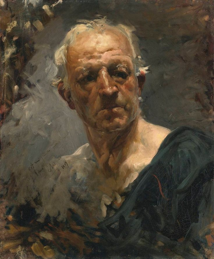 Self Portrait, 1889 // by Joaquin Sorolla y Bastida