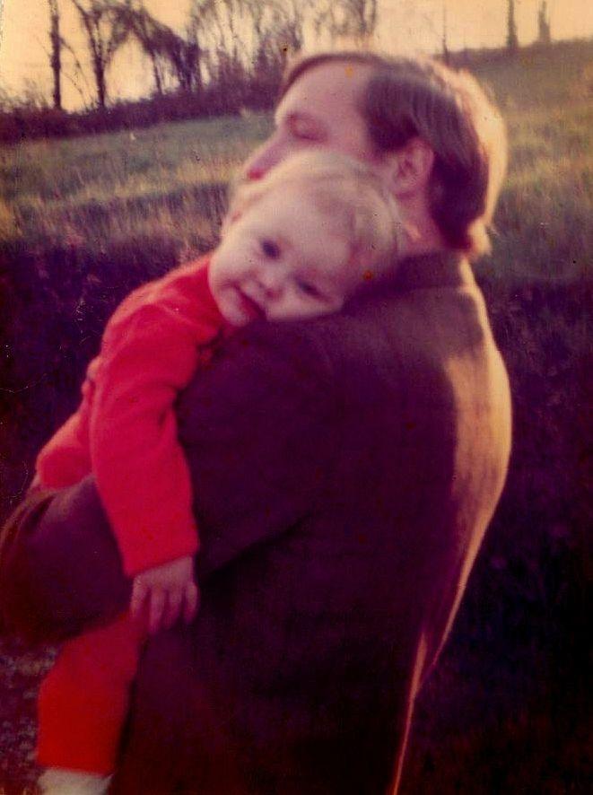 Daddy & Me, Black Moshannon State Park, PA (circa 1971)