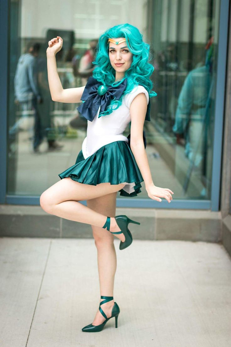 my sailor neptune cosplay! - Album on Imgur